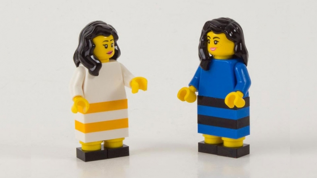the dress lego